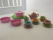 Play Tea set and kitchen set in Vista, California