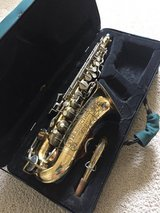 "Buescher ""400"" Alto Saxophone and case 1970 in Houston, Texas"