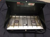 Coleman 2-burner Propane Stove w/Case in Westmont, Illinois