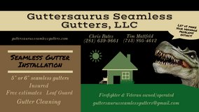 Guttersaurus Seamless Gutters in Kingwood, Texas