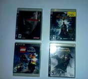 PS3 & PS4 GAME LOT in Dover, Tennessee