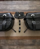 Harley Davidson 2009 Heritage Softail OEM Leather Saddle Bags in Gordon, Georgia