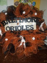 Orioles wreath in Fort Meade, Maryland