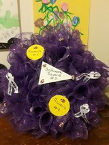 Ravens wreath in Fort Meade, Maryland