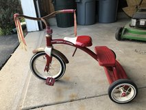 Classic Red Radio Flyer Tricycle in Yorkville, Illinois