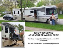 2004 Winnebago Adventurer, Wheelchair and Handicap Accessible in Naperville, Illinois