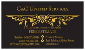 C & C United Services in Kingwood, Texas