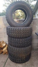 5 Semi-New Pro Comp XTREME MT2 Tires in Ruidoso, New Mexico