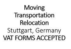 Moving-Transportation-Relocation Stuttgart & Germany in Stuttgart, GE