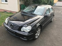 Black Mercedes C-220 CDI Avantgarde diesel Automatic,Gas Saver Car in Ansbach, Germany