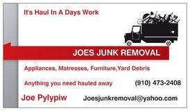 Joes Junk Removal and Hauling in Wilmington, North Carolina