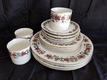 Holiday dinnerware in Camp Lejeune, North Carolina