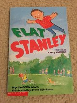 Flat Stanley book in Camp Lejeune, North Carolina