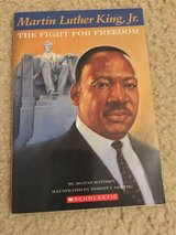 Martin Luther King Jr.-The Fight for Freedom book in Camp Lejeune, North Carolina