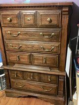 Oak Chest of Drawers Dresser in Naperville, Illinois
