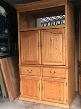 Oak Armoire Cabinet in Naperville, Illinois