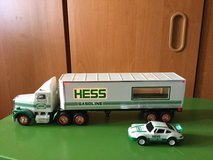 Truck (Hess) with Porsche (1992) in Ramstein, Germany
