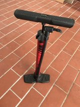 Bicycle pump in Ramstein, Germany