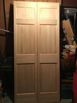 Solid Wood Folding Doors New in Naperville, Illinois