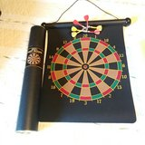 Portable dart game set in Sandwich, Illinois