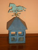 weather vane candle holder in Chicago, Illinois