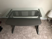 Glass top Desk in Oswego, Illinois