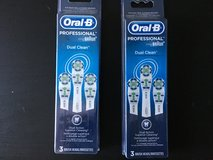 ORAL B PROFESSIONAL DUAL CLEAN BRUSH HEADS in Bartlett, Illinois
