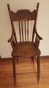 Antique High Chair for Dolls in Glendale Heights, Illinois