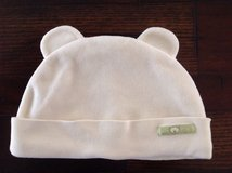 The Children's Place Baby Girls Boys Bear Milk Velour Hat, size 0-6 months in Chicago, Illinois