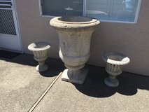 Large cement planter/ ornamental yard Decore in Vacaville, California