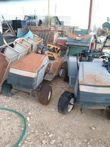 Riding lawnmowers and push mowers in Alamogordo, New Mexico