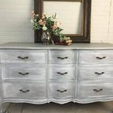 Drexel French Provincial Dresser Buffet Entertainment Center French Linen Color in Fort Leonard Wood, Missouri