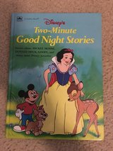 Disney's Two-Minute Good Night Stories book in Camp Lejeune, North Carolina