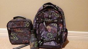 Snake printed pottery barn backpack etc in Kingwood, Texas