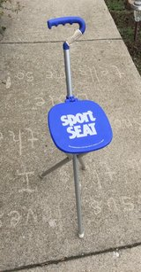 Sport Seat Folding Seat & Walking Stick Combination in St. Charles, Illinois