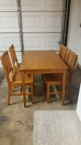 Dining table and chair set in Luke AFB, Arizona