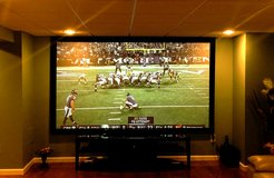 "120"" Home Theater Projector Screen Indoor/Outdoor in 29 Palms, California"