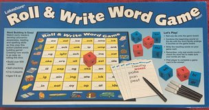 NEW Lakeshore Roll & Write Word Game in Okinawa, Japan