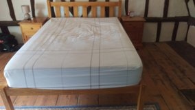 Double bed and mattress in Lakenheath, UK