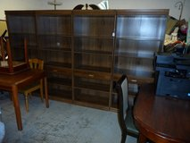 BOOKCASE 10' wide - 4 sections in Cherry Point, North Carolina