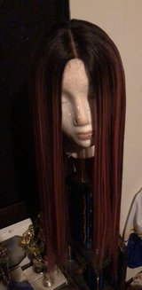 pink and black synthetic wig 26' in Hinesville, Georgia