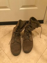 Military boots in Camp Pendleton, California