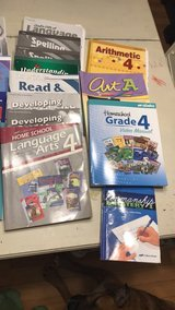 Abeka Homeschool year kit 4th Grade in Wilmington, North Carolina