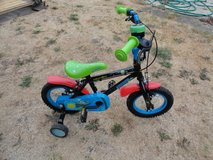 Apollo boys bike moonman ,stabilisers in Lakenheath, UK