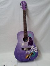 DISNEY HANNAH MONTANA WASHBURN SIX STRING RIGHT HAND ACOUSTIC GUITAR 3/4 SIZE in Fort Campbell, Kentucky