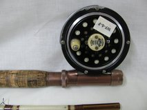 Pflueger Medalist Fly Rod Reel Combo w/ carboard tube holder in Fort Campbell, Kentucky