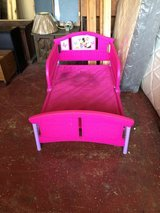 Minnie Mouse Toddler Bed in Leesville, Louisiana