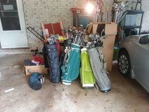 Golf clubs, bags, and accessories for sale in Byron, Georgia