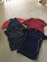 4 men's small athletic shirts in Glendale Heights, Illinois