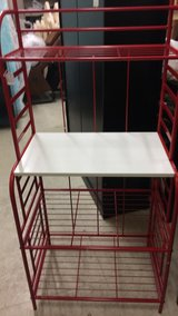 Microwave Rack (New) Red in Fort Leonard Wood, Missouri